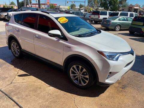 2017 Toyota RAV4 Hybrid for sale at Sunset Auto Sales & Repair in Lasalle CO