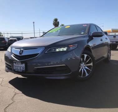 2017 Acura TLX for sale at LUGO AUTO GROUP in Sacramento CA