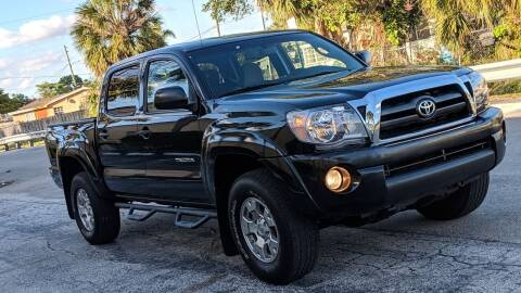 2010 Toyota Tacoma for sale at GTR MOTORS in Hollywood FL