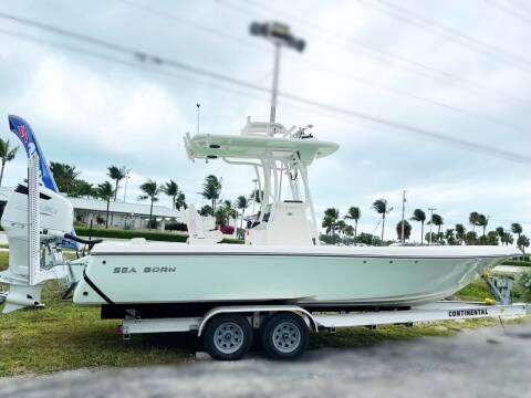 2022 SEA BORN FX25 for sale at Key West Kia - Wellings Automotive & Suzuki Marine in Marathon FL