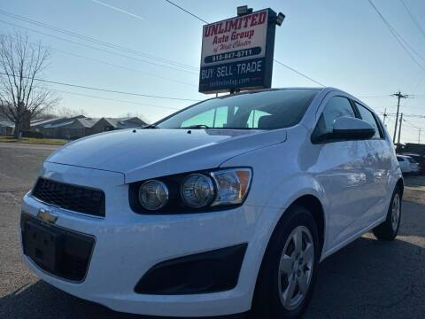 2016 Chevrolet Sonic for sale at Unlimited Auto Group in West Chester OH