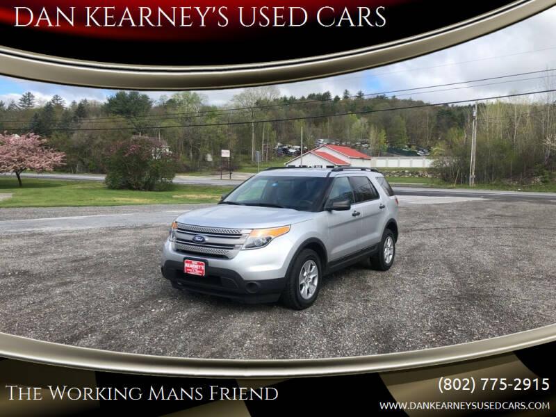 2012 Ford Explorer for sale at DAN KEARNEY'S USED CARS in Center Rutland VT
