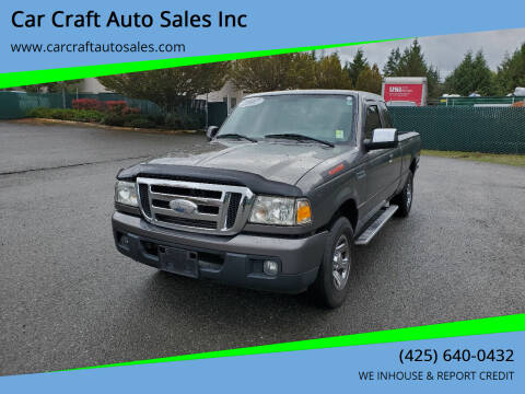 2007 Ford Ranger for sale at Car Craft Auto Sales Inc in Lynnwood WA
