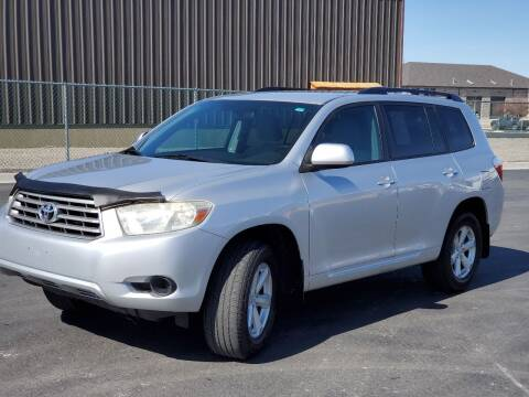 2008 Toyota Highlander for sale at FRESH TREAD AUTO LLC in Springville UT