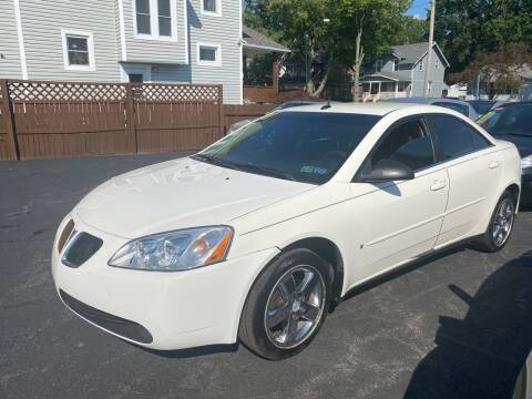 2008 Pontiac G6 for sale at E & A Auto Sales in Warren OH