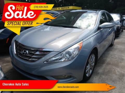 2013 Hyundai Sonata for sale at Cherokee Auto Sales in Acworth GA