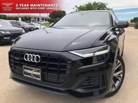 2020 Audi Q8 for sale at European Motors Inc in Plano TX