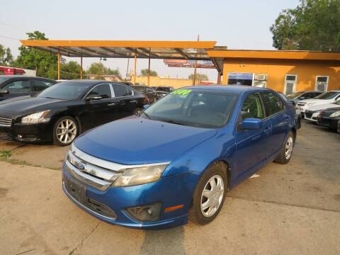2012 Ford Fusion for sale at Nile Auto Sales in Denver CO