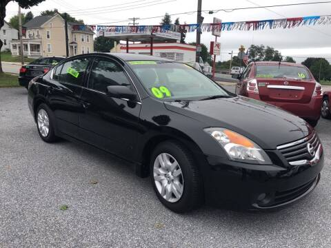 2009 Nissan Altima for sale at McNamara Auto Sales - Kenneth Road Lot in York PA