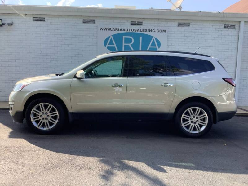 2014 Chevrolet Traverse for sale at ARIA AUTO SALES INC.COM in Raleigh NC