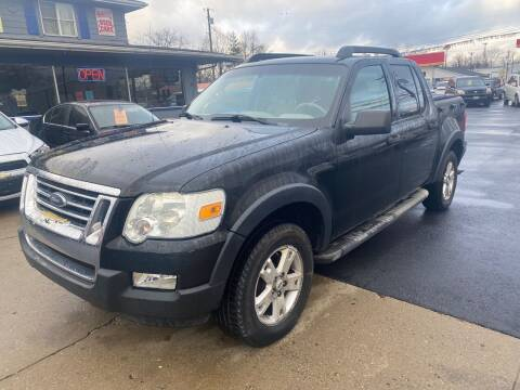 2007 Ford Explorer Sport Trac for sale at Wise Investments Auto Sales in Sellersburg IN