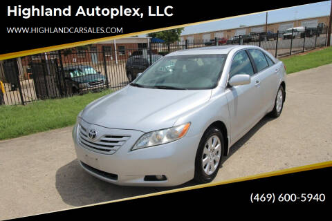 2007 Toyota Camry for sale at Highland Autoplex, LLC in Dallas TX