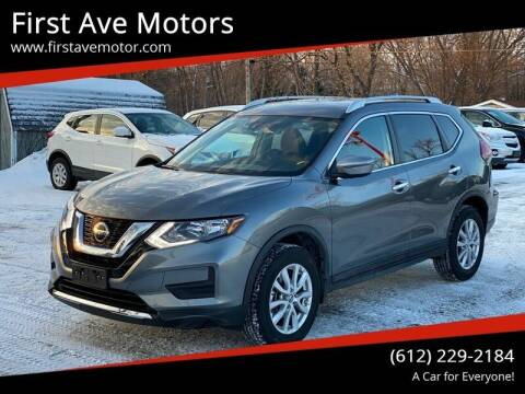 2019 Nissan Rogue for sale at First Ave Motors in Shakopee MN