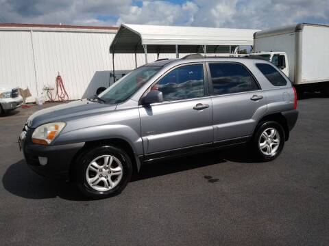 2005 Kia Sportage for sale at Big Boys Auto Sales in Russellville KY