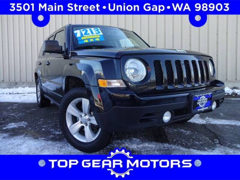 2012 Jeep Patriot for sale at Top Gear Motors in Union Gap WA