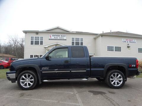 2006 Chevrolet Silverado 1500 for sale at SOUTHERN SELECT AUTO SALES in Medina OH