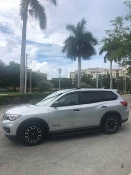 2019 Nissan Pathfinder for sale at LAND & SEA BROKERS INC in Pompano Beach FL