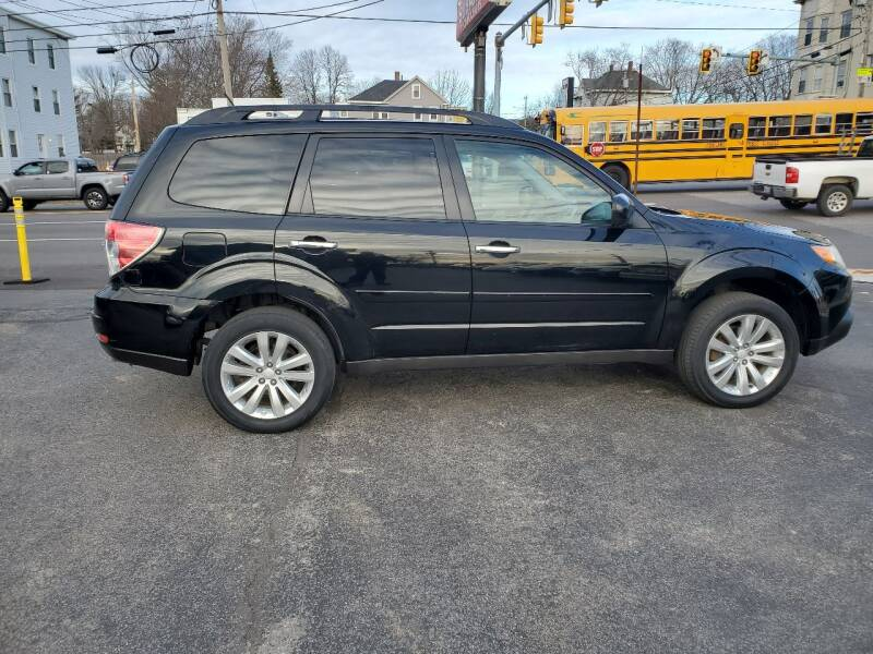 2011 Subaru Forester for sale at CHIP'S SERVICE CENTER in Portland ME