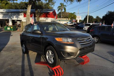 2012 Hyundai Santa Fe for sale at STEPANEK'S AUTO SALES & SERVICE INC. in Vero Beach FL