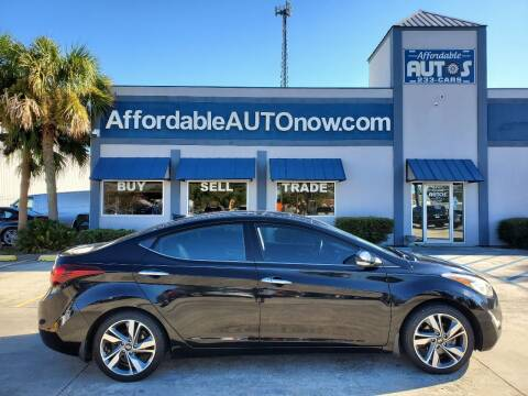 2014 Hyundai Elantra for sale at Affordable Autos in Houma LA