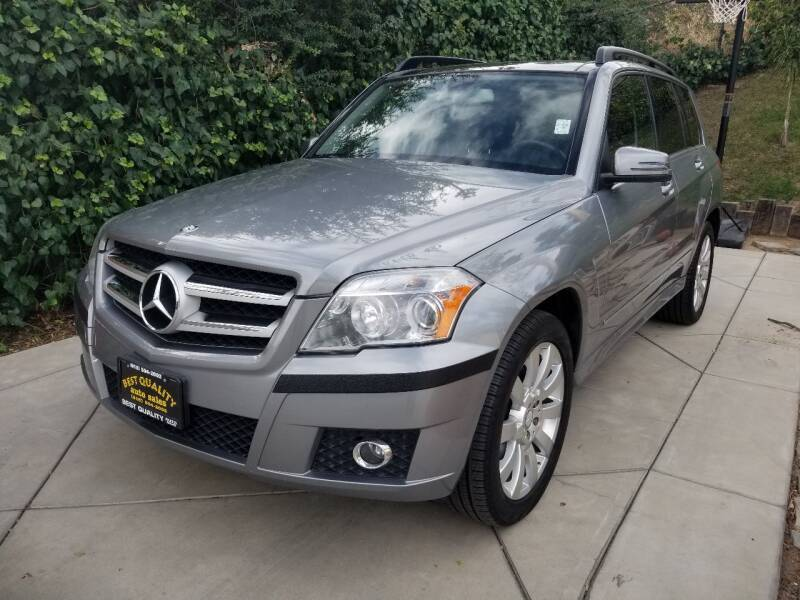 2012 Mercedes-Benz GLK for sale at Best Quality Auto Sales in Sun Valley CA