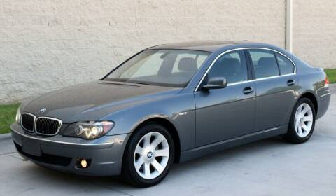 2006 BMW 7 Series for sale at Raleigh Auto Inc. in Raleigh NC