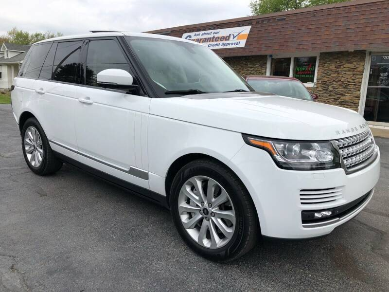 2013 Land Rover Range Rover for sale at Approved Motors in Dillonvale OH