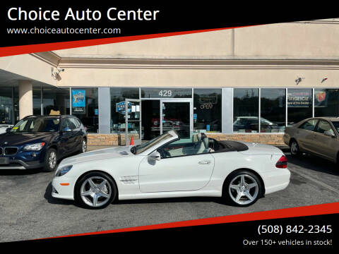 2009 Mercedes-Benz SL-Class for sale at Choice Auto Center in Shrewsbury MA