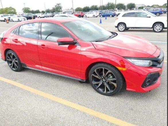 2019 Honda Civic for sale at GOOD NEWS AUTO SALES in Fargo ND