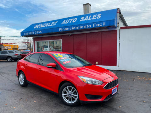 2016 Ford Focus for sale at Gonzalez Auto Sales in Joliet IL