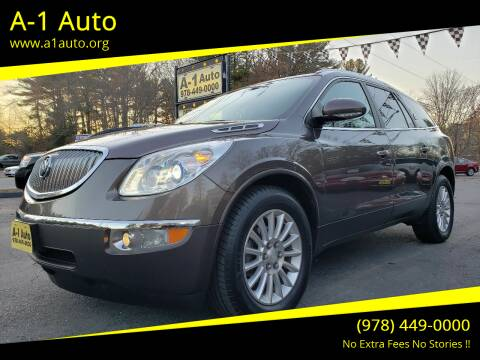 2012 Buick Enclave for sale at A-1 Auto in Pepperell MA