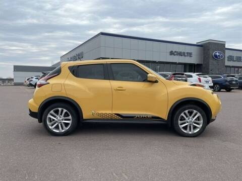 2015 Nissan JUKE for sale at Schulte Subaru in Sioux Falls SD