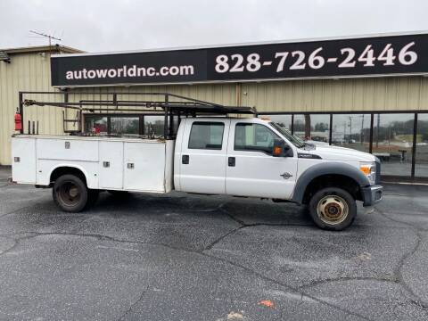 2012 Ford F-550 Super Duty for sale at AutoWorld of Lenoir in Lenoir NC