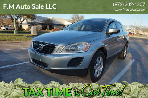 2012 Volvo XC60 for sale at F.M Auto Sale LLC in Dallas TX