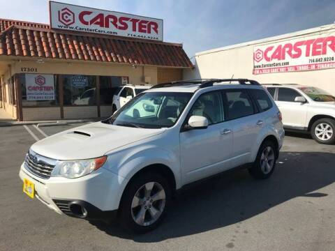 2010 Subaru Forester for sale at CARSTER in Huntington Beach CA