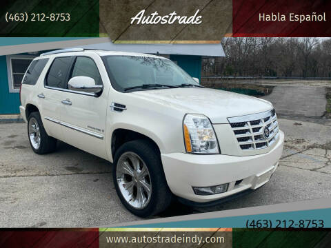 2007 Cadillac Escalade for sale at Autostrade in Indianapolis IN