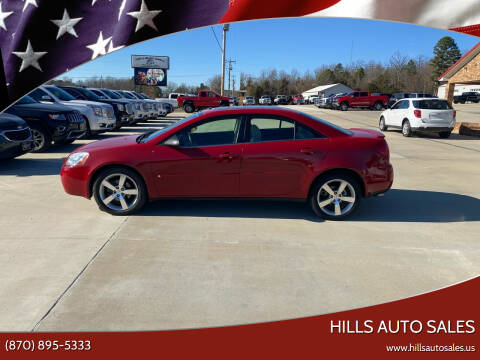 2007 Pontiac G6 for sale at Hills Auto Sales in Salem AR