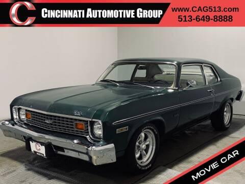 1974 Chevrolet Nova for sale at Cincinnati Automotive Group in Lebanon OH