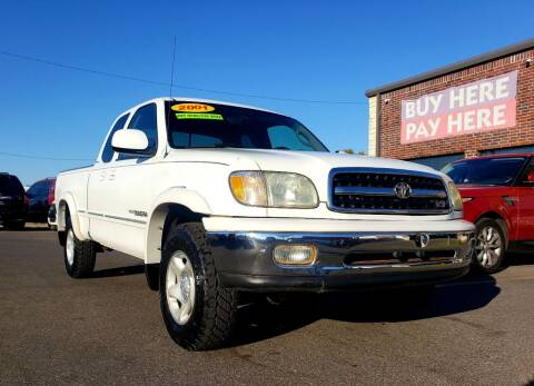 2001 Toyota Tundra for sale at AUTO BARGAIN, INC. #2 in Oklahoma City OK