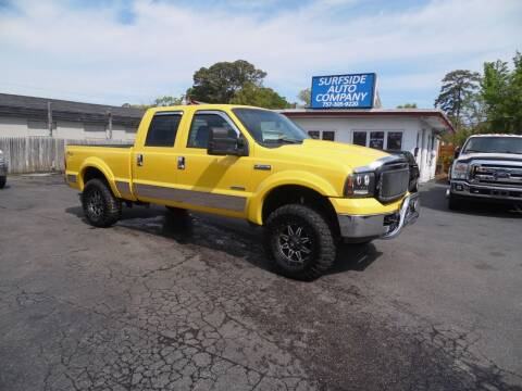 2006 Ford F-250 Super Duty for sale at Surfside Auto Company in Norfolk VA