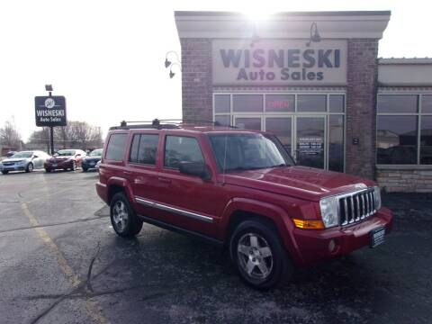 2010 Jeep Commander for sale at Wisneski Auto Sales, Inc. in Green Bay WI