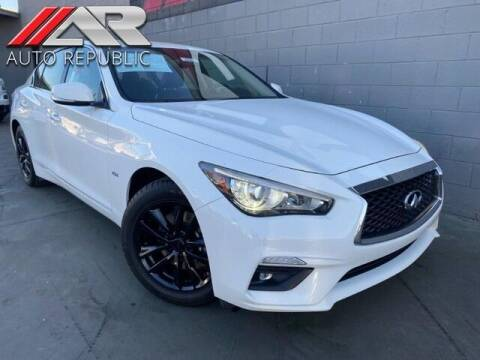 2018 Infiniti Q50 for sale at Auto Republic Fullerton in Fullerton CA