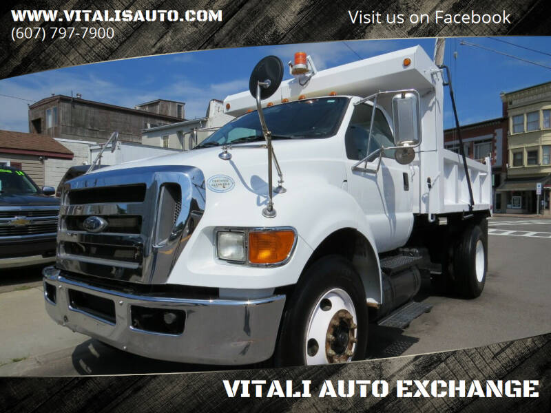 2009 Ford F-750 Super Duty for sale at VITALI AUTO EXCHANGE in Johnson City NY