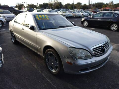 2003 Mercedes-Benz S-Class for sale at Tony's Auto Sales in Jacksonville FL