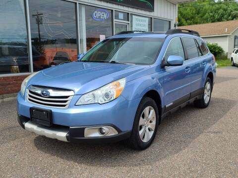 2011 Subaru Outback for sale at Green Cars Vermont in Montpelier VT