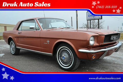 1966 Ford Mustang for sale at Druk Auto Sales in Ramsey MN
