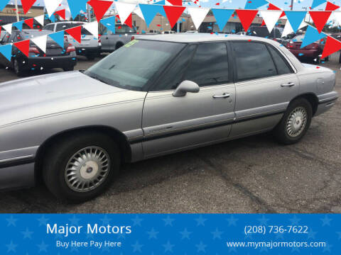 1997 Buick LeSabre for sale at Major Motors in Twin Falls ID