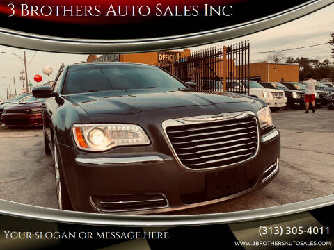 2014 Chrysler 300 for sale at 3 Brothers Auto Sales Inc in Detroit MI