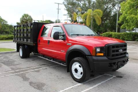 2006 Ford F-550 Super Duty for sale at Truck and Van Outlet in Miami FL