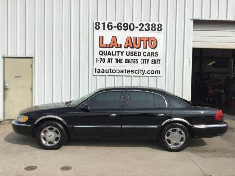 1999 Lincoln Continental for sale at LA AUTO in Bates City MO